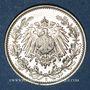 Coins Allemagne. 1/2 mark 1906 E
