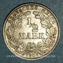 Coins Allemagne. 1/2 mark 1906 G