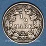 Coins Allemagne. 1/2 mark 1909 E