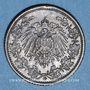 Coins Allemagne. 1/2 mark 1918 G
