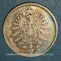 Coins Allemagne. 1 mark 1881 F