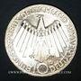 Coins Allemagne. 10 mark 1972 D. Jeux olympiques. Spirale,  in Deutschland