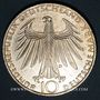 Coins Allemagne. 10 mark 1972 D. Jeux olympiques. Sportif et sportive
