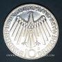 Coins Allemagne. 10 mark 1972 F. Jeux olympiques. Spirale,  in Deutschland