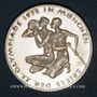 Coins Allemagne. 10 mark 1972 F. Jeux olympiques. Sportif et sportive