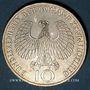 Coins Allemagne. 10 mark 1972 J. Jeux olympiques. Flamme