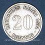 Coins Allemagne. 20 pfennig 1874 B
