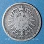 Coins Allemagne. 20 pfennig 1874 C