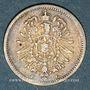 Coins Allemagne. 20 pfennig 1874 F