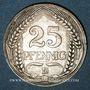 Coins Allemagne. 25 pfennig 1909 D