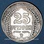 Coins Allemagne. 25 pfennig 1910 D