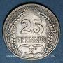 Coins Allemagne. 25 pfennig 1911 D