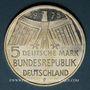 Coins Allemagne. 5 mark 1975 F. Année du patrimoine (Denkmalschutzjahr)