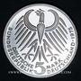 Coins Allemagne. 5 mark 1975 J. Frédéric Ebert