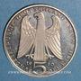 Coins Allemagne. 5 mark 1980 D. Vogelweide