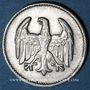 Coins Allemagne. République de Weimar. 1 mark 1924 F