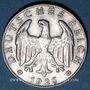 Coins Allemagne. République de Weimar. 1 reichsmark 1926 F