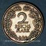 Coins Allemagne. République de Weimar. 2 reichsmark 1926 A