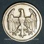 Coins Allemagne. République de Weimar. 3 mark 1924 D