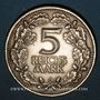 Coins Allemagne. République de Weimar. 5 reichsmark 1925 D. Rheinlande