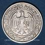 Coins Allemagne. République de Weimar. 50 reichspfennig 1927 D