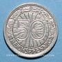 Coins Allemagne. République de Weimar. 50 reichspfennig 1928 A
