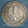 Coins Allemagne. République de Weimar. 50 reichspfennig 1928 G