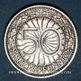 Coins Allemagne. République de Weimar. 50 reichspfennig 1929 A
