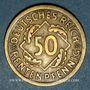 Coins Allemagne. République de Weimar. 50 rentenpfennig 1924 A