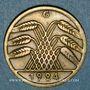 Coins Allemagne. République de Weimar. 50 rentenpfennig 1924 G