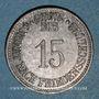 Coins Eggenfelden. Distriktssparkasse. 15 pfennig 1916