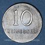 Coins Kaiserslautern. Ville. 10 pfennig 1918
