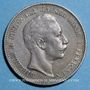 Coins Prusse. Guillaume II (1888-1918). 2 mark 1896 A