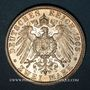Coins Prusse. Guillaume II (1888-1918). 2 mark 1905 A