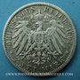 Coins Prusse. Guillaume II (1888-1918). 2 mark 1907 A