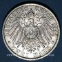 Coins Prusse. Guillaume II (1888-1918). 2 mark 1911 A