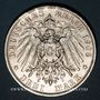 Coins Prusse. Guillaume II (1888-1918). 3 mark 1908 A