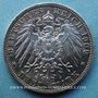 Coins Prusse. Guillaume II (1888-1918). 3 mark 1909 A