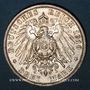 Coins Prusse. Guillaume II (1888-1918). 3 mark 1910 A