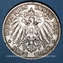 Coins Prusse. Guillaume II (1888-1918). 3 mark 1911 A