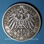 Coins Prusse. Guillaume II (1888-1918). 5 mark 1895 A