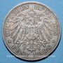 Coins Prusse. Guillaume II (1888-1918). 5 mark 1903 A