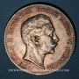Coins Prusse. Guillaume II (1888-1918). 5 mark 1907 A