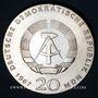 Coins République Démocratique allemande. 20 mark 1967. 200e anniversaire de la naissance de Humboldt