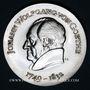 Coins République Démocratique allemande. 20 mark 1969. 220e anniversaire de la naissance de Goethe