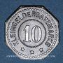 Coins Schlierbach. Wächtersbacher Steingutfabrik. 10 pfennig n.d. Fer