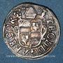 Coins Abbaye de Corvey. Thierry IV de Beringhausen (1585-1616). 1/24 taler 1614