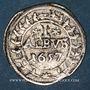 Coins Allemagne. Worms. Ville. 1 albus 1657 HS