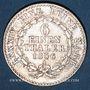 Coins Anhalt-Bernbourg. Alexandre Charles (1834-1863). 1/6 taler 1856 A