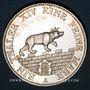 Coins Anhalt-Bernbourg. Alexandre Charles (1834-1863). Taler des mines 1855 A